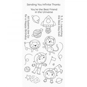 MFT, Best Friends in the Universe stamp set, Australia