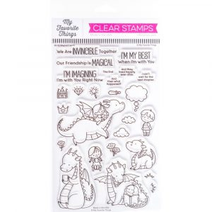 MFT, Magical Friends stamp set, Australia