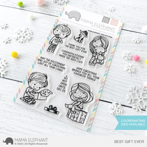 Mama Elephant, Best Gift Ever stamp set, Australia