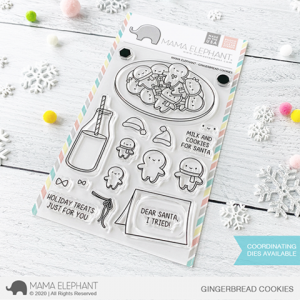 Mama Elephant, Gingerbread Cookies stamp set, Australia