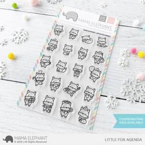Mama Elephant, Little Fox Agenda stamp set, Australia