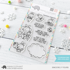 Mama Elephant, Sincerely Yours stamp set, Australia