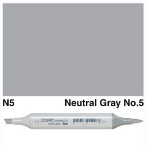 Copic Sketch N5 marker, Australia