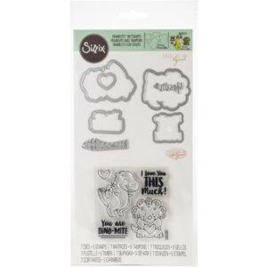 Sizzix, T-Rex stamp & die bundle, Australia