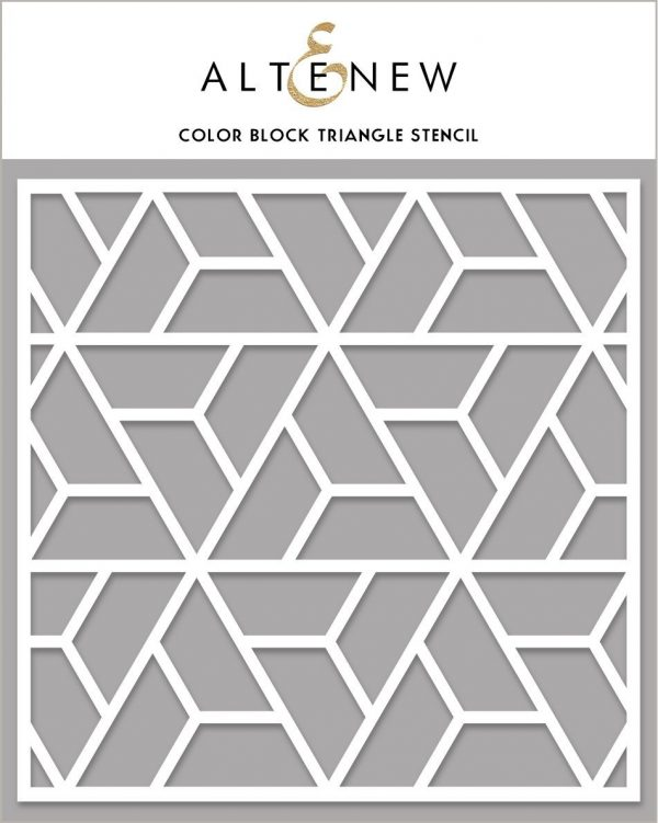 Altenew, Color Block Triangle stencil, Australia