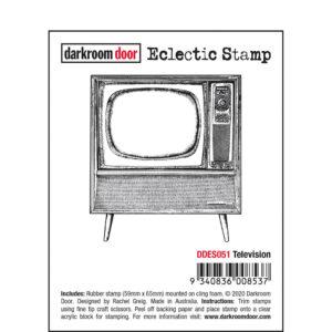 Darkroom Door, Television eclectic stamp, Australia