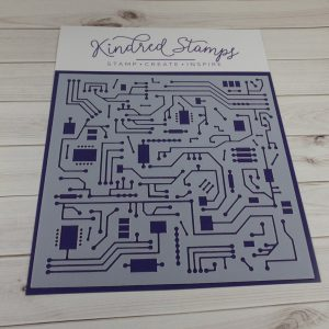 Kindred Stamps, Circuits stencil, Australia