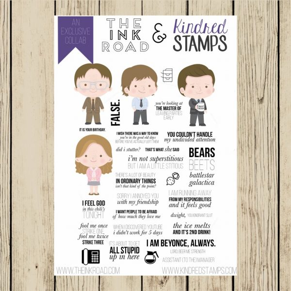 Kindred Stamps, Scranton PA stamp set, Australia