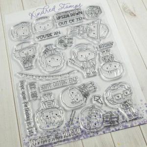 Kindred Stamps, Stranger Friends stamp set, Australia