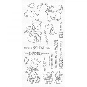 MFT, Magical Dragons stamp set, Australia