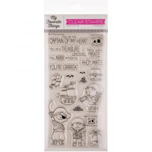 MFT, Party Like a Pirate stamp set, Australia