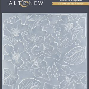 Altenew, Beautiful Bergenia 3D embossing folder, Australia