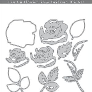 Altenew, Craft A Flower Rose layering die set, Australia