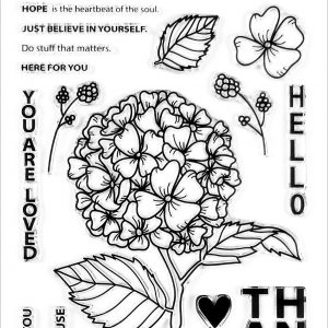 Altenew, Hello Hydrangea stamp set, Australia