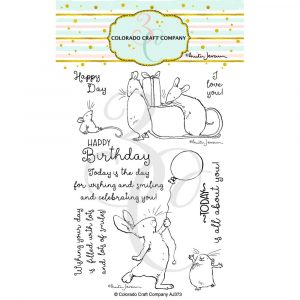 Colorado Craft Co, Birthday Wishing stamp set, Australia