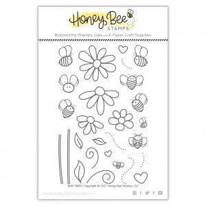 Honey Bee Stamps, Busy Bees stamp set, Australia
