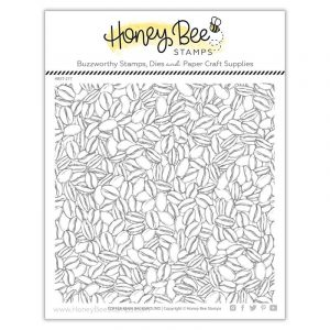 Honey Bee Stamps, Coffee Bean Background stamp set, Australia