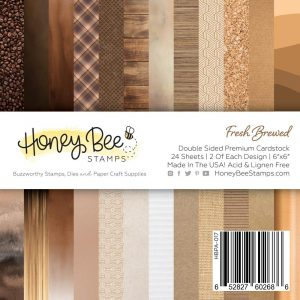 Honey Bee Stamps, Fresh Brewed 6x6 paper pad, Australia
