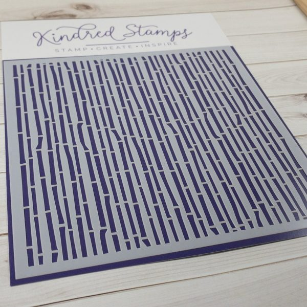 Kindred Stamps, Bamboo Shoots stencil, Australia