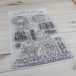 Kindred Stamps, Festive Furries stamp set, Australia