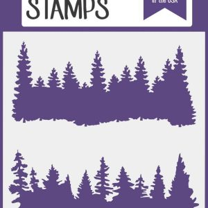 Kindred Stamps, Forest stencil, Australia