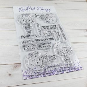 Kindred Stamps, Gal Pals stamp set, Australia