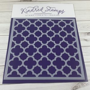 Kindred Stamps, Moroccan Tile stencil, Australia