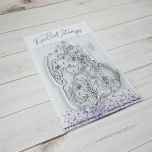 Kindred Stamps, Pixie Map stamp set, Australia