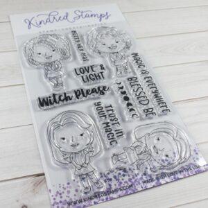 Kindred Stamps, Weirdos stamp set, Australia
