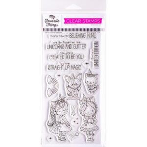 MFT, Unicorns & Glitter stamp set, Australia