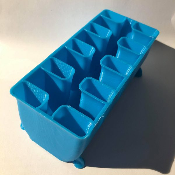 Make it by Marko, Bathtub Blender Brush Caddie Lt Blue, Australia