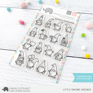 Mama Elephant, Little Gnome Agenda stamp set, Australia