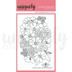 Uniquely Creative, Floral Bunch stamp set, Austrlaia