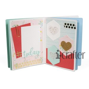 i-Crafter, Mini Album Accordion die set, Australia