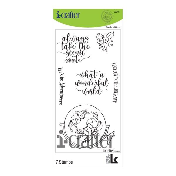 i-Crafter, Wonderful World stamp set, Australia