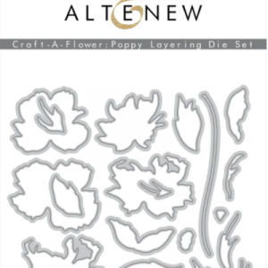 Altenew, Craft A Flower Poppy die set, Australia