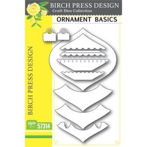 Birch Press, Ornament Basics die set, Australia