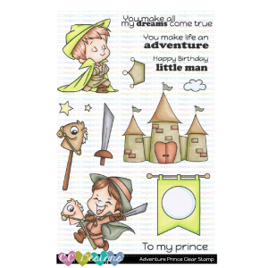 CC Designs, Adventure Princes stamp set, Australia