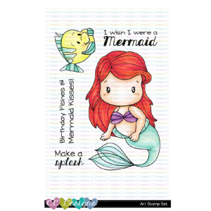CC Designs, Ari stamp set, Australia