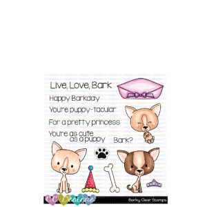 CC Designs, Barky stamp set, Australia