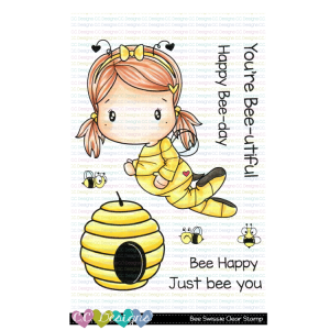 CC Designs, Bee Swissie stamp set, Australia