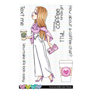 CC Designs, Business Bella stamp set, Australia
