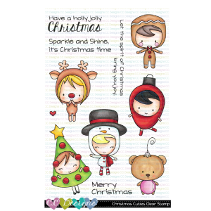 CC Designs, Christmas Cuties stamp set, Australia