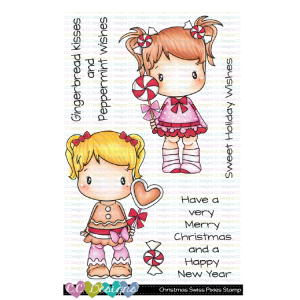 CC Designs, Christmas Swiss Pixies stamp set, Australia