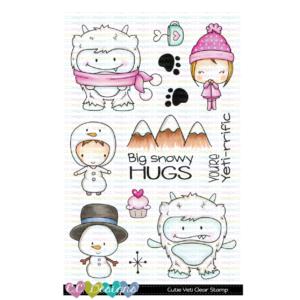 CC Designs, Cutie Yeti stamp set, Australia