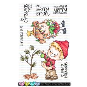 CC Designs, It's A Roberto Christmas stamp set, Australia