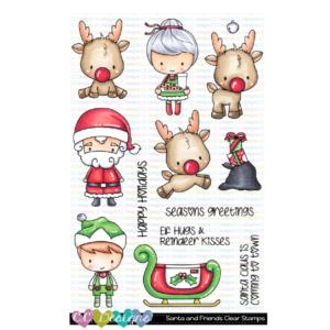 CC Designs, Santa and Friends stamp set, Australia