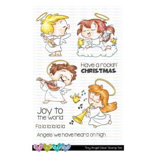 CC Designs, Tiny Angels stamp set, Australia