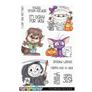 CC Designs, Tiny Halloween stamp set, Australia