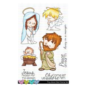 CC Designs, Tiny Jesus stamp set, Australia